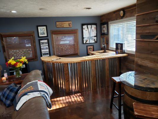 Man Cave Bar Completed